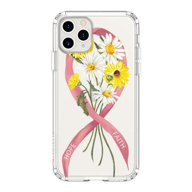 Breast Cancer Awareness Phone Case - iPhone 11 Pro Case