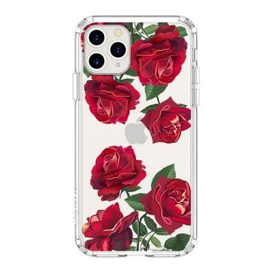 Red Rose Blossom Flower Floral Phone Case - iPhone 11 Pro Case