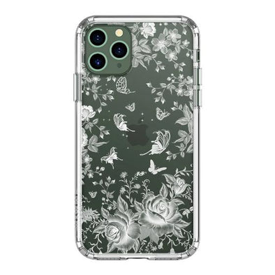 White Rose Garden Phone Case - iPhone 11 Pro Max Case