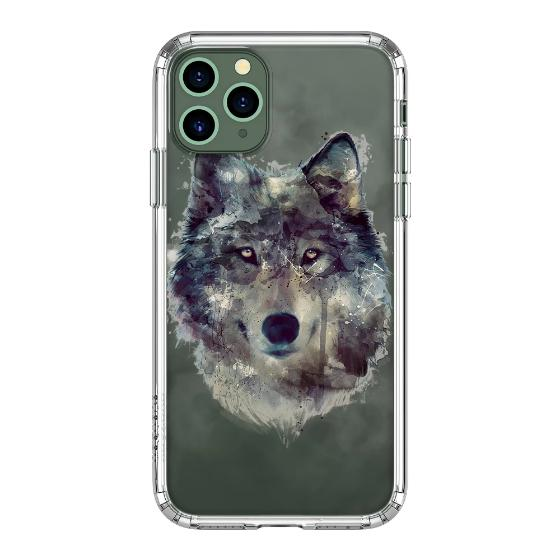 wolf iPhone 11 case