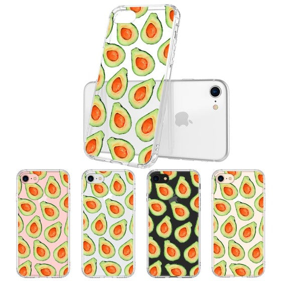 Cute Avocado Phone Case - iPhone 8 Case