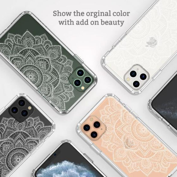 Half Mandala Phone Case - iPhone 11 Pro Max Case