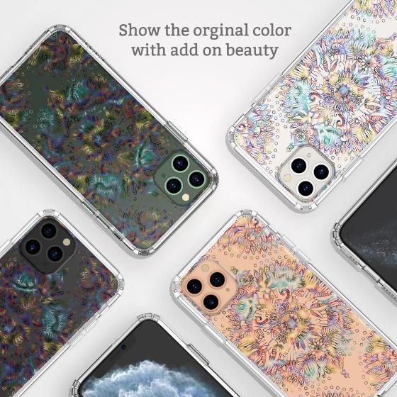 Ombre Mandala Phone Case - iPhone 11 Pro Max Case