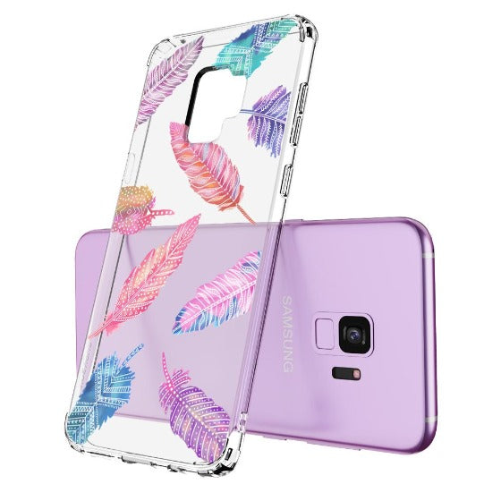 Tribal Feathers Phone Case - Samsung Galaxy S9 Case