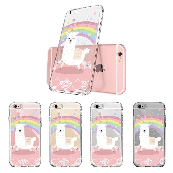 Rainbow Alpaca Phone Case - iPhone 6 Plus/6S Plus Case