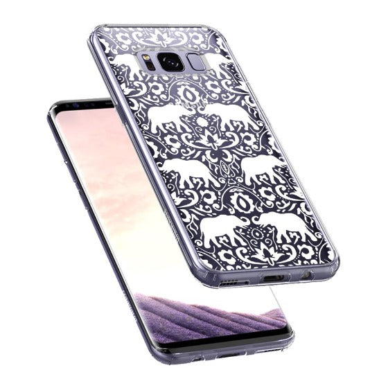 White Elephant Phone Case - Samsung Galaxy S8 Case