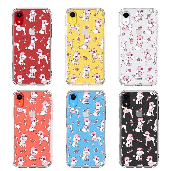 Cute Poodle Phone Case - iPhone XR Case