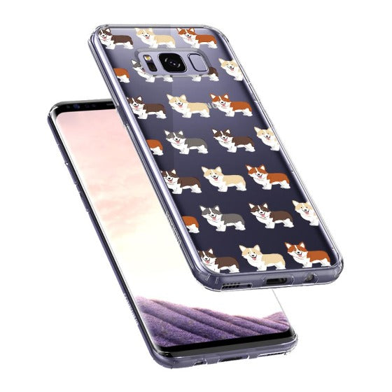 Cute Corgi Phone Case - Samsung Galaxy S8 Case