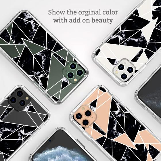 Black Marble Phone Case - iPhone 11 Pro Case