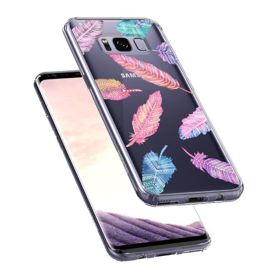 Tribal Feathers Phone Case - Samsung Galaxy S8 Case