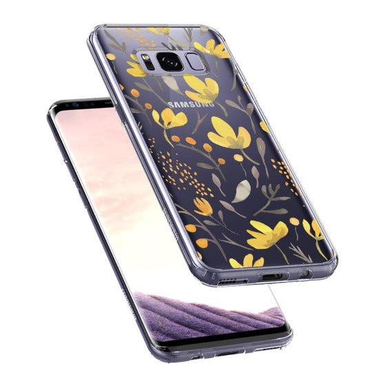 Floral Flower Phone Case - Samsung Galaxy S8 Case