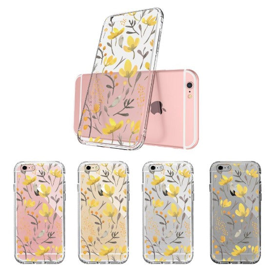 Floral Flower Phone Case - iPhone 6 Plus/6S Plus Case