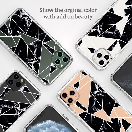 Black Marble Phone Case - iPhone 11 Pro Max Case