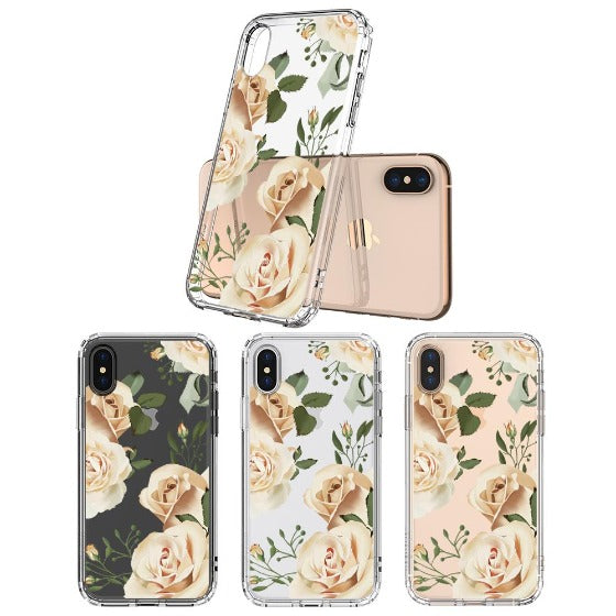 Champagne Roses Phone Case - iPhone XS Case