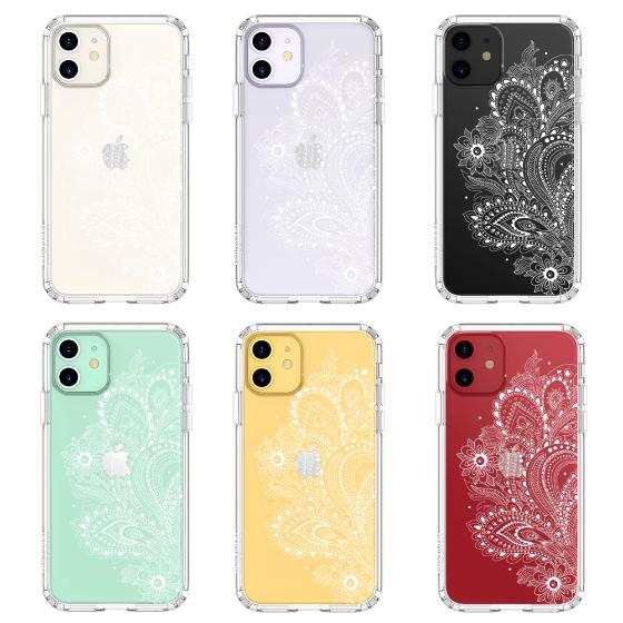 Paisley Floral Phone Case - iPhone 11 Case