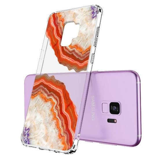 Red Agate Phone Case - Samsung Galaxy S9 Case