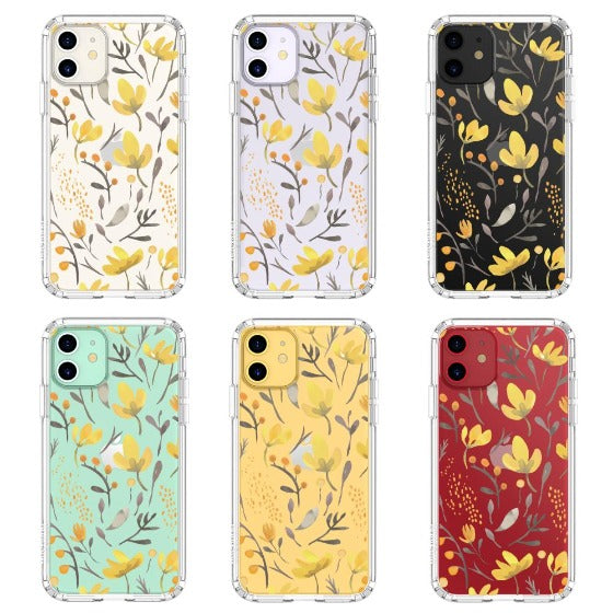 Floral Flower Phone Case - iPhone 11 Case