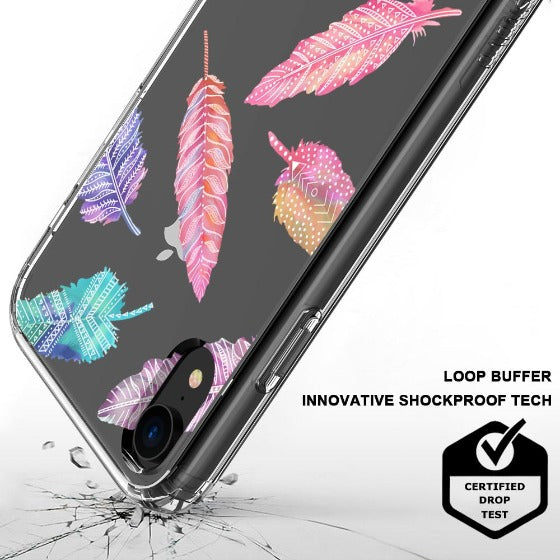Tribal Feathers Phone Case - iPhone XR Case