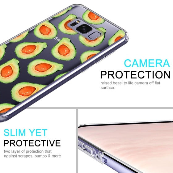 Cute Avocado Phone Case - Samsung Galaxy S8 Plus Case