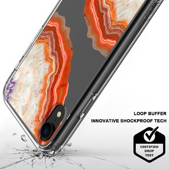 Red Agate Phone Case - iPhone XR Case