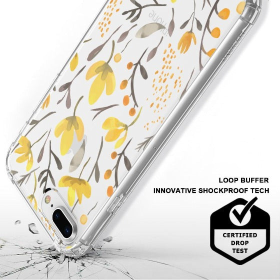Floral Flower Phone Case - iPhone 7 Plus Case