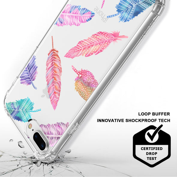 Tribal Feathers Phone Case - iPhone 7 Plus Case