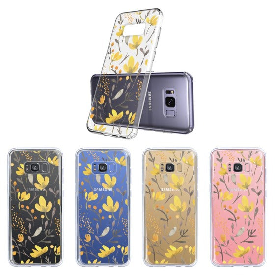 Floral Flower Phone Case - Samsung Galaxy S8 Plus Case