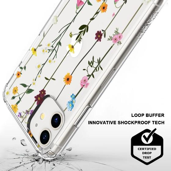 Wild Flowers Floral Phone Case - iPhone 11 Case