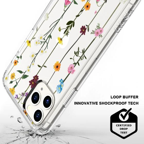 Wild Flowers Floral Phone Case - iPhone 11 Pro Max Case