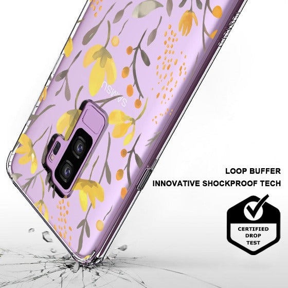 Floral Flower Phone Case - Samsung Galaxy S9 Plus  Case