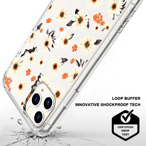 Daisy Floral Phone Case - iPhone 11 Pro Case