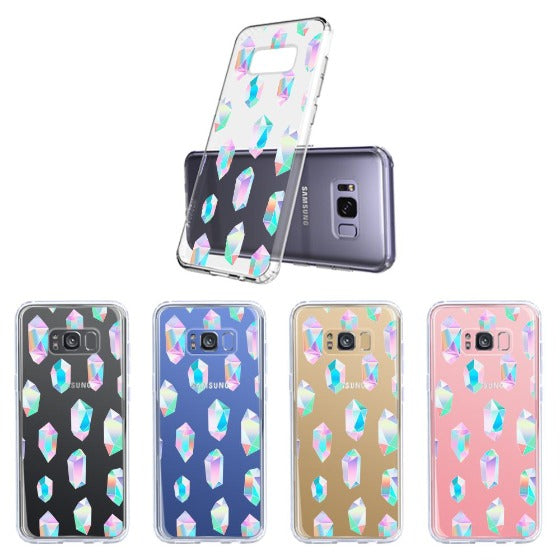 Gradient Diamond Phone Case - Samsung Galaxy S8 Plus Case