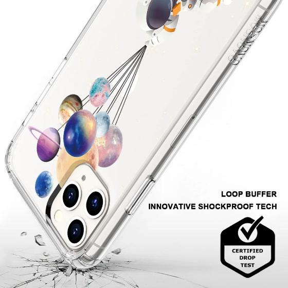 Astronaut Planet Phone Case - iPhone 11 Pro Max Case