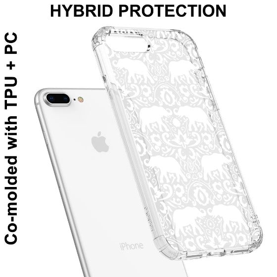 White Elephant Phone Case - iPhone 7 Plus Case