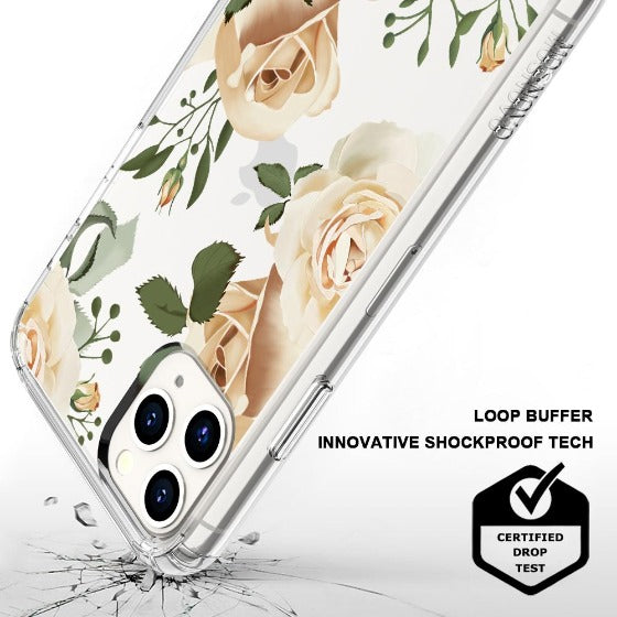 Champagne Roses Phone Case - iPhone 11 Pro Case