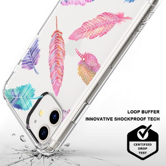 Tribal Feathers Phone Case - iPhone 11 Case