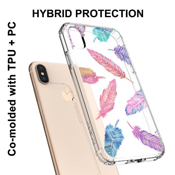Tribal Feathers Phone Case - iPhone XS Case