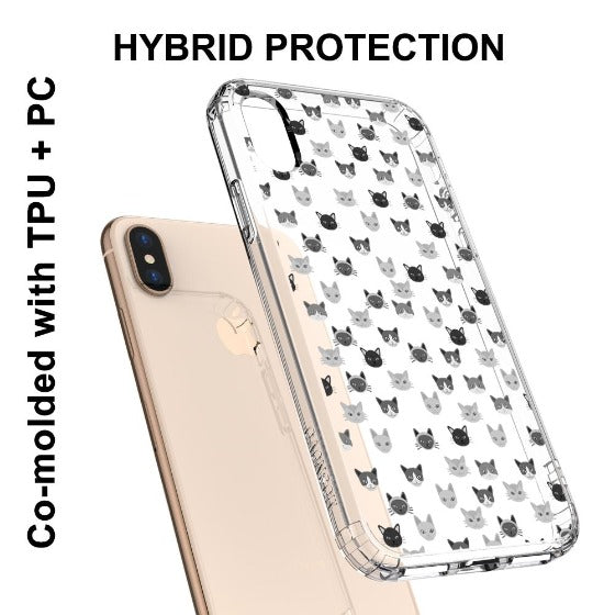 Cats Head Phone Case - iPhone Xs Max Case