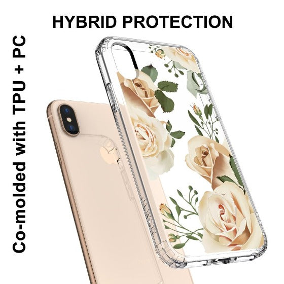 Champagne Roses Phone Case - iPhone Xs Max Case