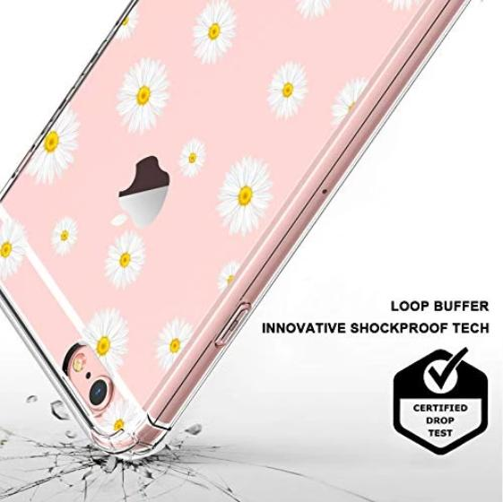 Daisy Floral Flower Phone Case - iPhone 6/6S Case