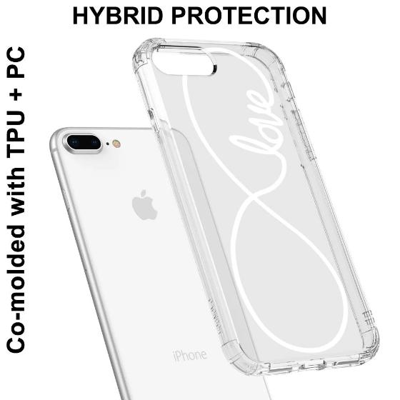 Infinity Love Phone Case - iPhone 8 Plus Case