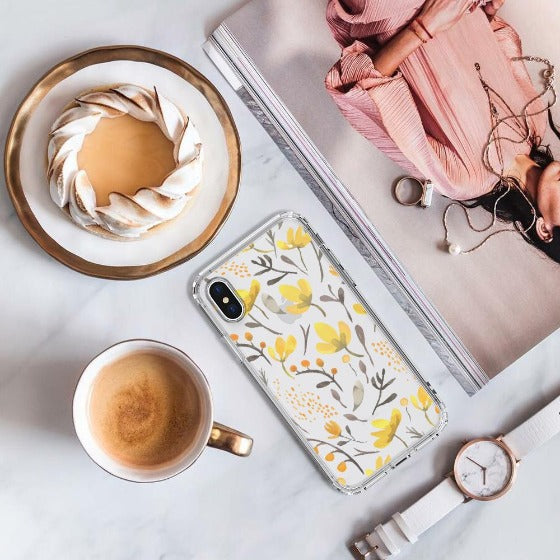 Floral Flower Phone Case - iPhone X Case