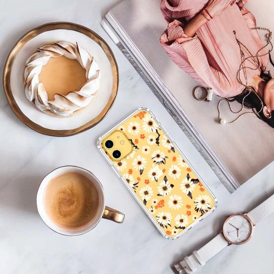 Daisy Floral Phone Case - iPhone 11 Case