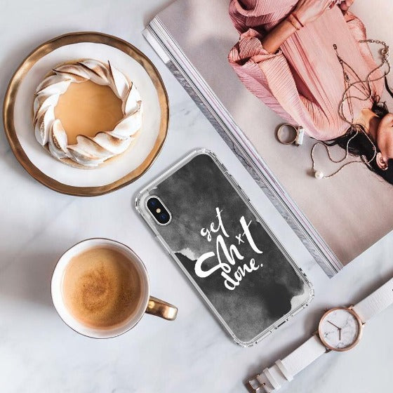 Get Sh*t Done Phone Case - iPhone X Case