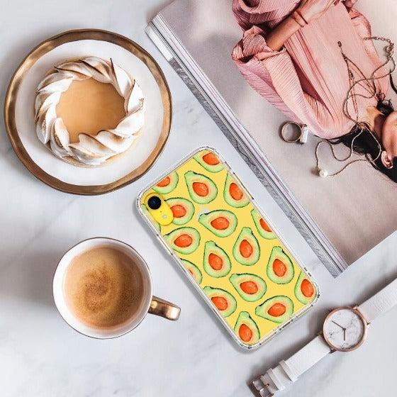 Cute Avocado Phone Case - iPhone XR Case