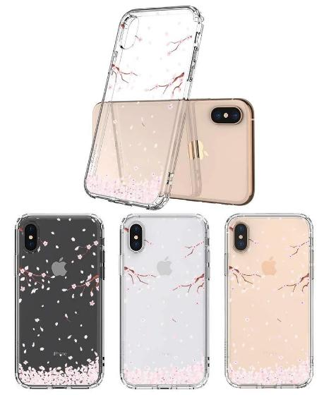 Sakura Flowers Blossom Phone Case - iPhone X Case