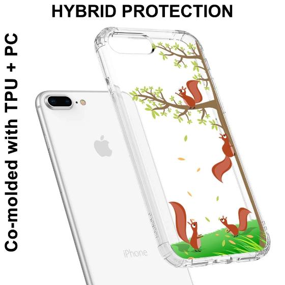 Squirrel Phone Case - iPhone 8 Plus Case
