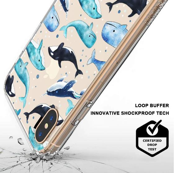 Whale Phone Case - iPhone X Case