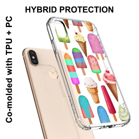 Ice Cream Phone Case - iPhone XS Case