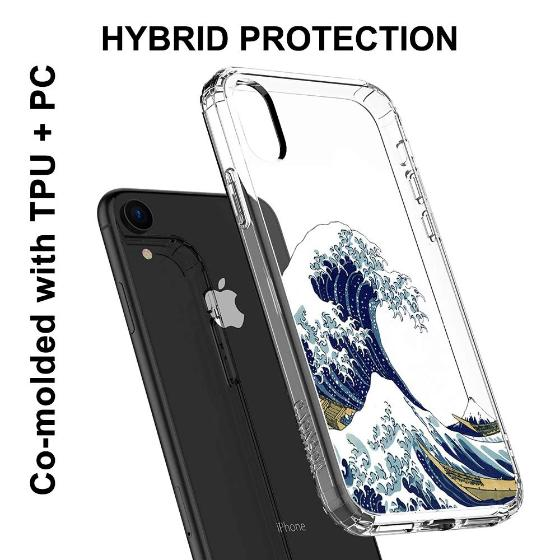 Tokyo Wave Phone Case - iPhone XR Case